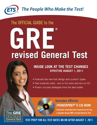 Download The Official Guide to the GRE revised General Test Pdf