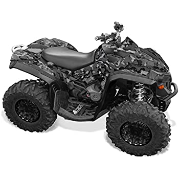 Can Am Renegade 800 >> Amazon Com Can Am Renegade 800 Graphics Black Camo By