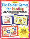 File-Folder Games for Reading, Marilyn Myers Burch and Linda Ward Beech, 0439137314