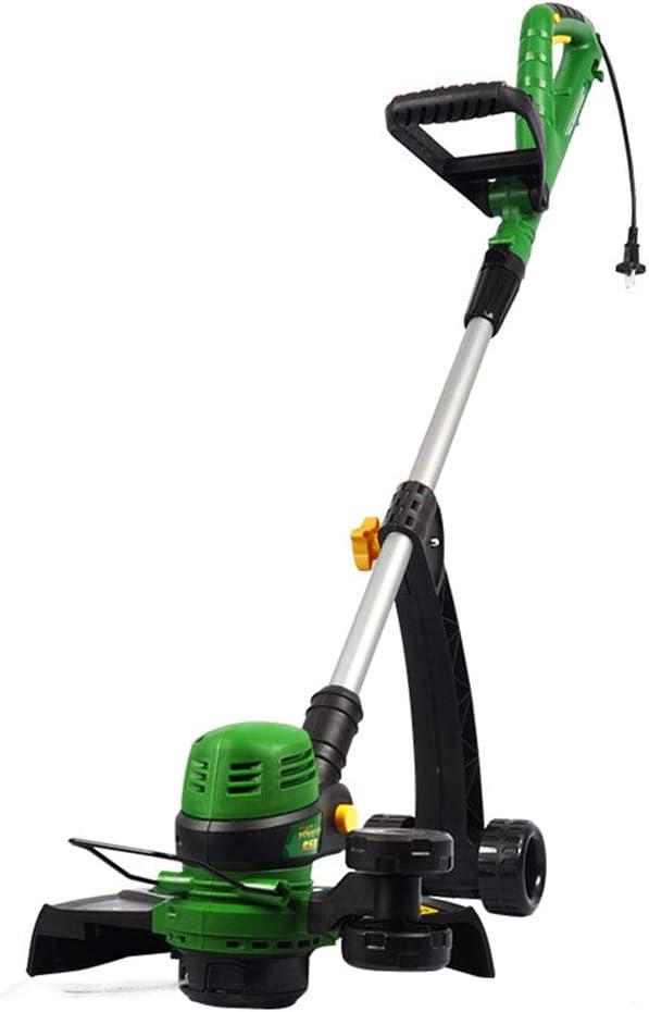 YQYL Cortadora de césped eléctrica portátil escarda Recargable 800W cortadora de césped del césped del hogar de Mano podadora eléctrica