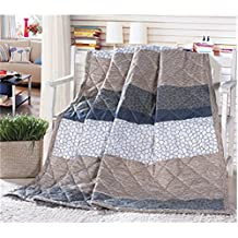 KAKA(TM) Home Comfortable Microfiber Simple style Comforter for Summer Air-Conditioning Quilt 1PS(150-200cm)