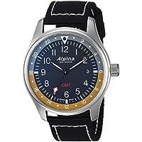 Alpina Startimer Pilot GMT Black Dial Men's Watch