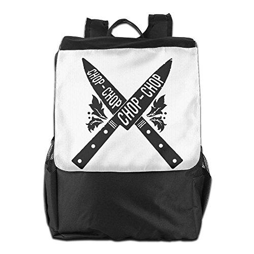 CHOP CHOP KNIVESUnisex Backpackconvenienttravel Bag Design Personality Ourdoor Backpack