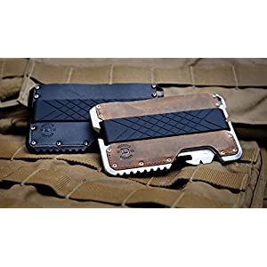 Dango Tactical EDC Wallet – Made in USA – Genuine Leather, Multitool, RFID Block