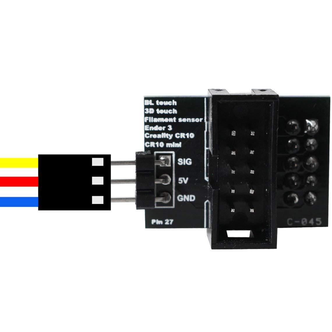 Zinniaya Accesorios de Impresora 3D Creality Cr-10 / Ender 3 Pin ...