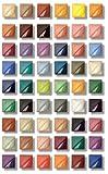 AMACO Velvet Semi-Translucent Underglaze Set 4, Assorted Color, Set of 12