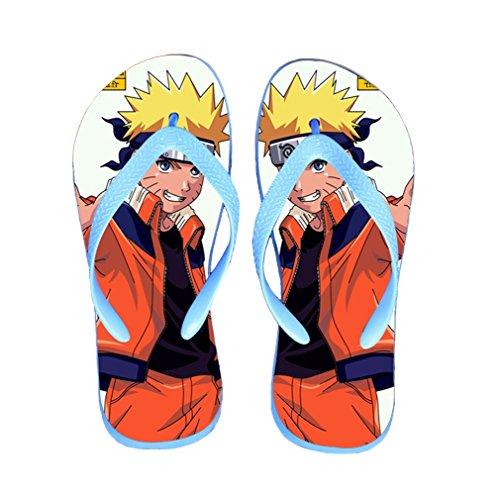 Bromeo Naruto Anime Unisex Flip Flops Chanclas 309