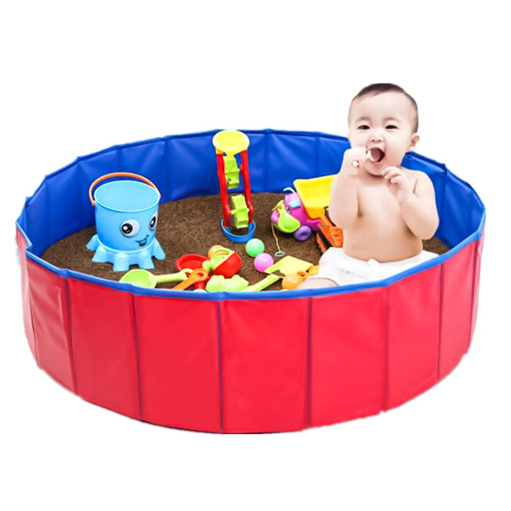 NEEDL CO Foldable Pet Swimming Pool - Pet Outdoor Swimming Playing Pond Dogs Grooming Shower & Kiddie Pools by NEEDL CO (Image #3)