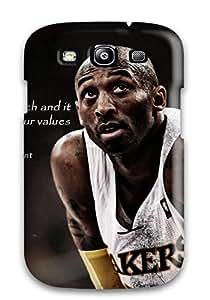 For Galaxy S3 Premium Tpu Case Cover Kobe Bryant Protective Case