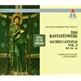 Bach: Sacred Cantatas, Vol 9 (BWV 163-182) / Harnoncourt