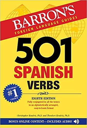 [143800916X] [9781438009162] 501 Spanish Verbs 8th Edition-Paperback