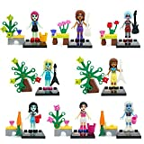 Decool 8 Piece/ Set Size 4.5-5 cm. Monster School ABS Minifigures Figure Mini BuildingBlocks Without Original box