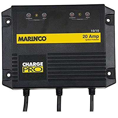Marinco On Board Battery Charger 20A 2 Bank (Part #28220 By Marinco)
