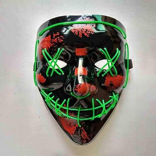 DSWIME Máscara de Halloween EL Purga Máscaras Elección Máscara ...
