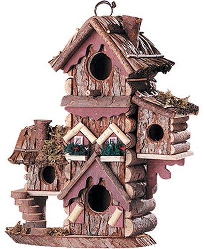 Gingerbread Style Birdhouse Avian Bird House ()