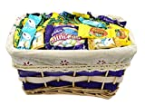 Gift Universe - EASTER Gift Basket with Ghirardelli Bunny Chocolate Trio, Cadbury Mini Eggs and Reese's Peanut Butter Cup Eggs Easter Candy