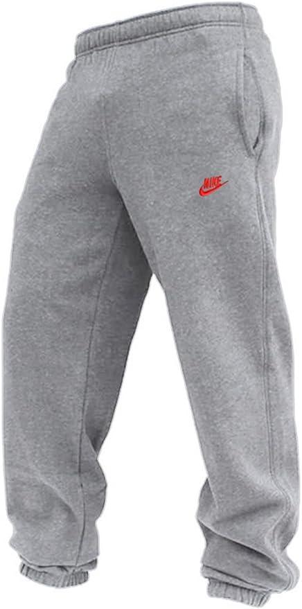 Nike Pantalones De Chandal Gris 069 Hombre Color Gris Tamano Mediano Amazon Es Deportes Y Aire Libre