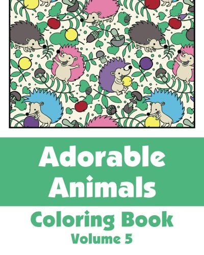 Download Adorable Animals Coloring Book Art Filled Fun Books Pdf