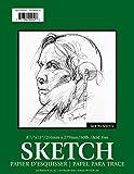 "Jack Richeson 100251 100 Sheet Spiral Bound Sketch Pad, 8.5"" x 11""/60 lb"