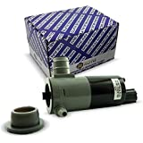 Mean Mug Auto 4818-232316B Windshield Washer Pump w/Grommet - For: Chrysler Dodge Jeep RAM - Replaces OEM #: 5103452AA 55077241AB