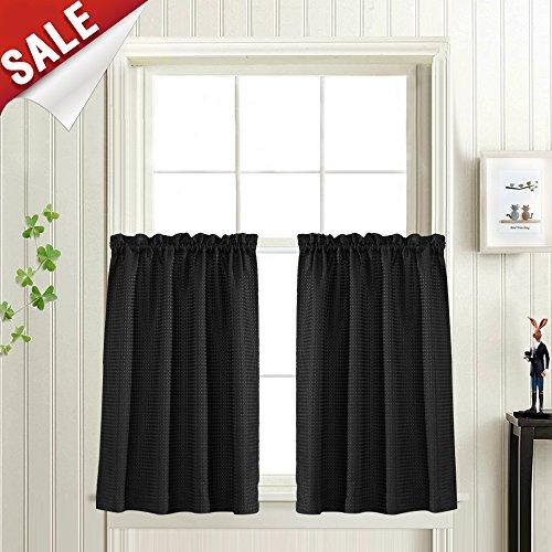 Black Kitchen Curtain - 3