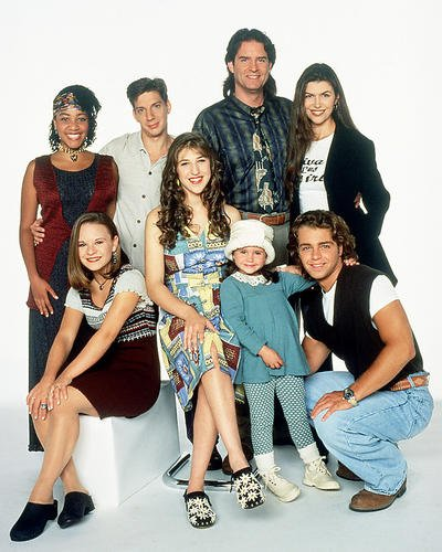 Blossom 16x20 Poster Mayim Bialik Ted Wass Joey Lawrence and cast