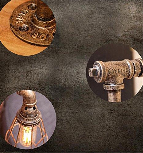 Steampunk r/étro lampe de chevet ajustable /à leau lampe de chevet Accueil Recherche Laboratoire chambre /à coucher Biblioth/èque biblioth/èque table haute 17 pouces laiton couleur