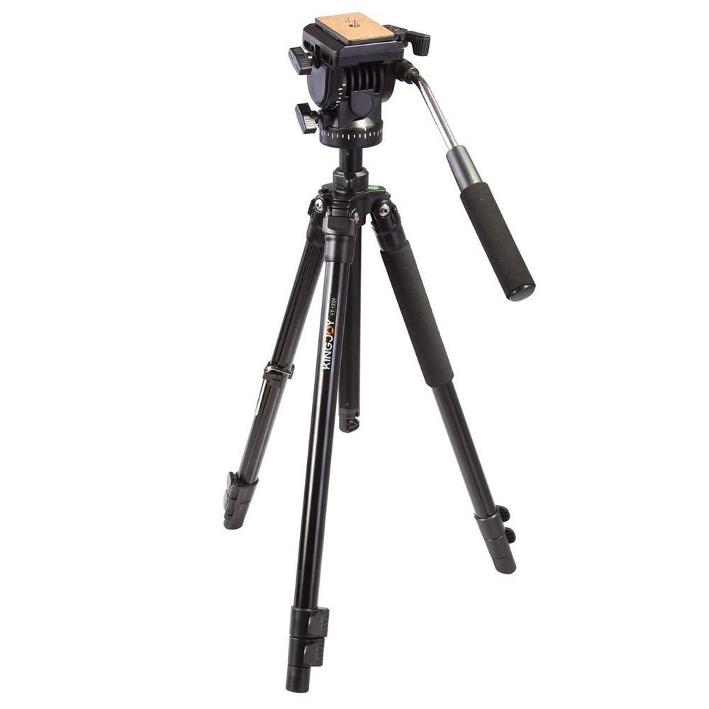 Alluminum 合金 51インチ/156cm 三脚一脚 360度のボールヘッド付き 1/4インチ クイックシュープレートとキャリーバッグ デジタル一眼レフカメラ用 最大10kgまで対応   B07KN613MK