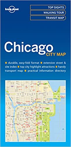 Chicago Attraction Map on