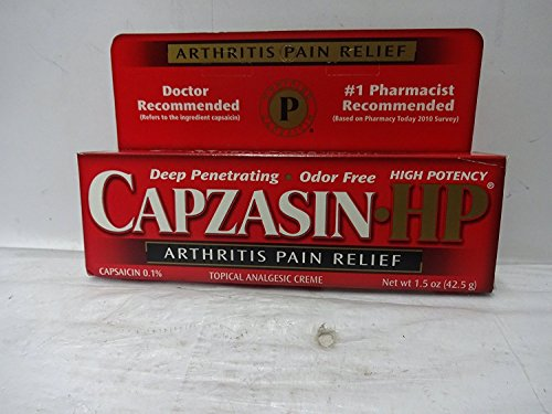 Capzasin HP Arthritis Pain Relief, Creme - 1.5 oz (PACK OF 3)