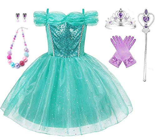 Romy's Collection Little Mermaid Ariel Princess Party Costume