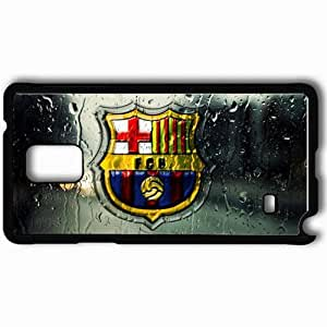 Personalized Samsung Note 4 Cell phone Case/Cover Skin 2013 unique barcelona Black