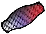New Comfortable Neoprene Strap Wrapper for Your Scuba Diving & Snorkeling Mask - Red Fish Scales