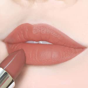 Semi Matte Vegan Lipstick with Creamy Satin Finish, a Yummy Toffee Apple Caramel Lip Color -CRUSH ON YOU (307-I'm Yours) by Ready to Shine