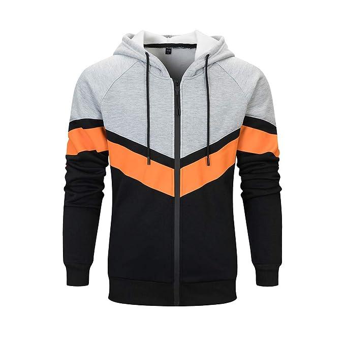 Amazon.com: LBL - Sudadera con capucha para hombre, con ...