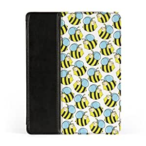 Bumble Bees Premium Faux PU Leather Case, Protective Hard Cover Flip Case for Apple? iPad 2 / 3 and iPad 4 by Nick Greenaway + FREE Crystal Clear Screen Protector by lolosakes