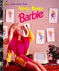 Very Busy Barbie (A Little Golden Book)
