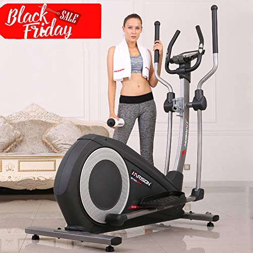 HARISON Elliptical Trainer Elliptical Machine for Home Use Smart Cross Trainer with 32 Levels Resistance for Home Use