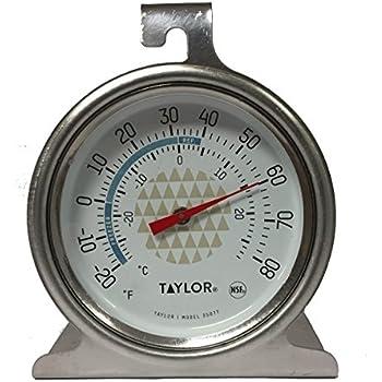 Classic Tru Temp Refrigerator-Freezer Thermometer - Blue