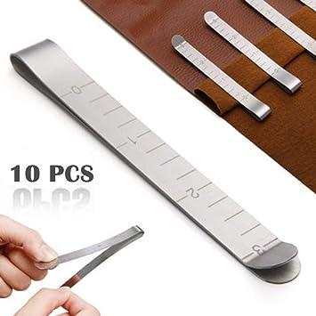 Clips de costura, 10 clips de dobladillo de acero inoxidable ...