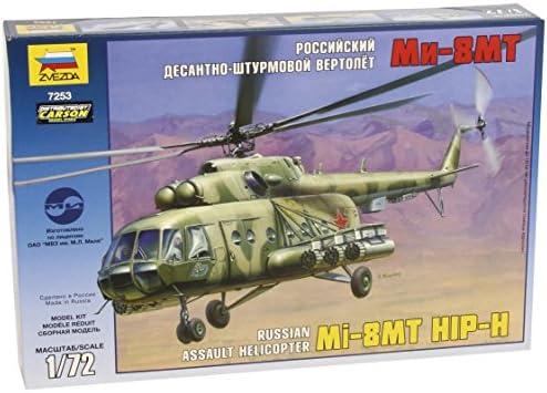 1:72 Zvezda 7253 Russischer Mehrzweckhubschrauber Hip-H Mil Mi-8MT