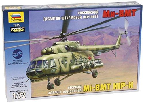 Zvezda 500787253–1: 72Soviet Helicopter Mil Mi 17Hip H