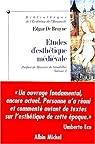 Etudes d'esthétique médiévale, tome 1 par De Bruyne