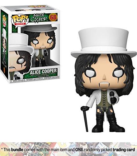 Alice Cooper: Funko POP! Rocks Vinyl Figure + 1 Music themed