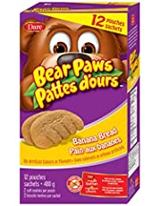 Bear Paws Dare Banana Bread Cookies, Family Size 480g (12 Pouches)