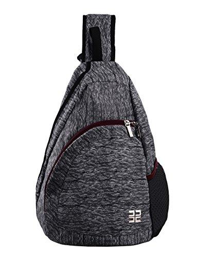Douguyan Shoulder Tasche Junge Freizeit Umhängetasche Brusttasche Sporttasche Nylon Herren Leichte Fahrradtasche E00147