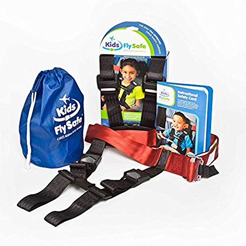 Child Airplane Travel Harness Safety Restraint System - The Only FAA App