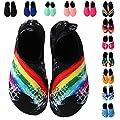 EQUICK Water Sports Shoes Barefoot Quick-dry Aqua Socks Slip-on for Men Women Kids