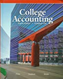 College Accounting, Price, John E. and Haddock, M. David, Jr., 0028040562