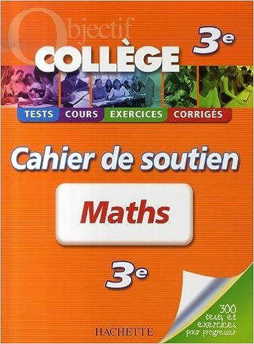 Amazon Livres Gratuits Telechargeables Maths 3e Cahier De